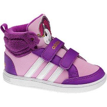 Adidas Neo Hoops Cipő Lila Mid Inf Magasszárú Label Cut Animal b6vfgY7y