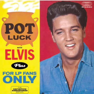 Pot Luck with Elvis (HQ) Vinyl LP (nagylemez)