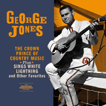 The Crown Prince of Country Music/Sings White Lightning (CD)