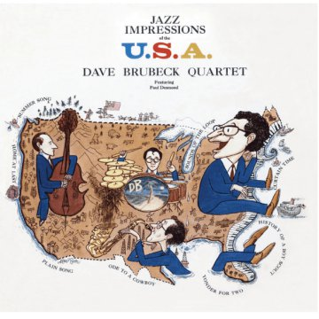 Jazz Impressions of the USA (CD)