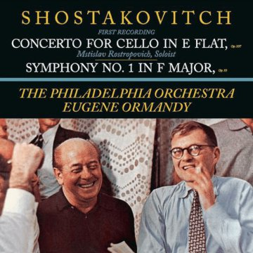 Concerto for Cello in E Flat/Symphony No. 1 in F Major (CD)