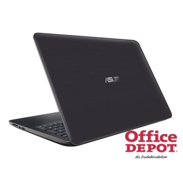 "ASUS X556UQ-DM575D 15,6"" FHD/Intel Core i3-7100U/8GB/128GB/GeForce 940MX 2GB/DVD író/sötétbarna notebook"