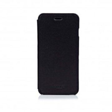 Knomo - iPhone Leather Folio - iPhone 6 Plus - Fekete