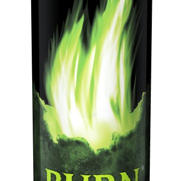 Burn Apple-Kiwi energiaital 0,25 l