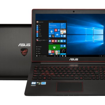 "G501VW-FW140T gaming notebook (15,6"" Full HD/Core i7/8GB/256GB SSD/GTX960 4GB VGA/Windows 10)"