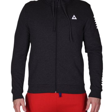 Pop Sportif FZ Hood M dark heather grey