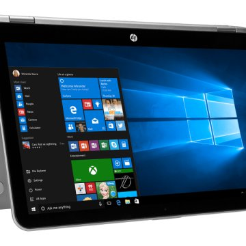 "Pavilion x360 ezüst notebook X5D72EA(15,6"" Full HD IPS/Core i5/8GB/1TB HDD/GT930 2GB VGA/Windows 10)"