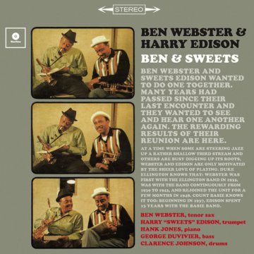 Ben Webster and Sweets Edison (Vinyl LP (nagylemez))