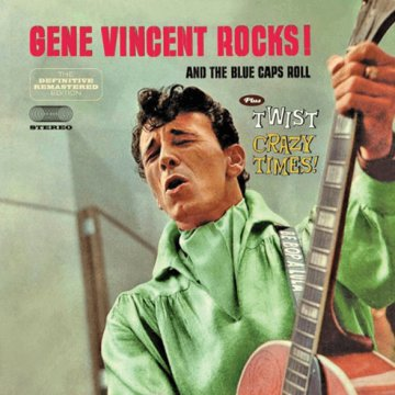 Gene Vincent Rocks!/Twist Crazy Times! (CD)