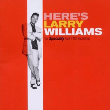Here's Larry Williams (HQ) Vinyl LP (nagylemez)