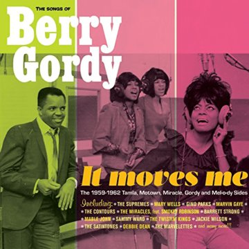 It Moves Me: The Songs of Berry Gordy (CD)