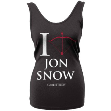 Game of Thrones - I Love Jon Snow (Póló)