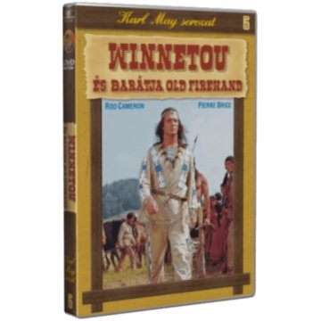 Karl May 05.- Winnetou és barátja, Old Firehand (DVD)