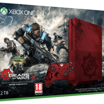 Xbox One S 2TB konzol - Gears of War 4 Limited Edition gépcsomag