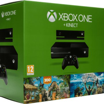 Xbox One 500GB + Kinect + Zoo Tycoon és Kinect Sport Rivals