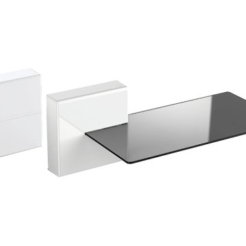 GHOST CUBES SHELF WHITE