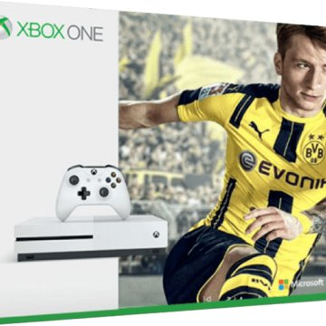 Xbox One S 500GB -  FIFA 17 Bundle