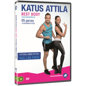 Katus Attila Best Body: Fitten a Miss Fittel! (DVD)
