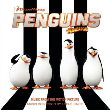 Penguins of Madagascar (Music from the Motion Picture) (A Madagaszkár pingvinjei) CD