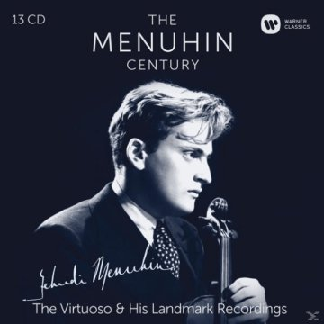 The Menuhin Century - The Virtuoso & His Landmark Recordings CD