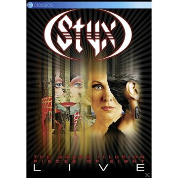 The Grand Illusion / Pieces Of Eight - Live DVD