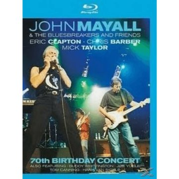 70th Birthday Concert Blu-ray