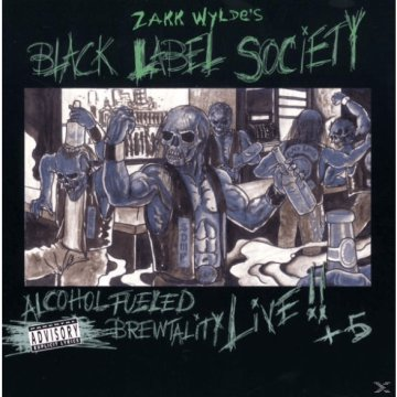 Alcohol Fueled Brewtality Live CD