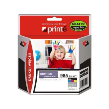 Printé multipack AB985_MULTI (Brother LC985) 4 színű