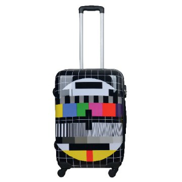 Tesco TV mintás bőrönd. 1 kép 884c1bb9e9