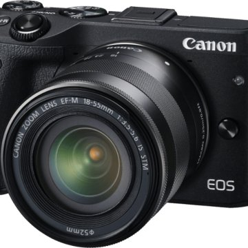 EOS M3 + 18-55 IS STM Kit