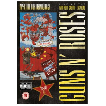 Appetite for Democracy: Live at the Hard Rock Casino - Las Vegas (CD + DVD)