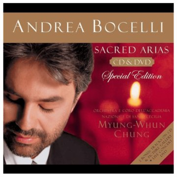 Sacred Arias (Special Edition) CD + DVD