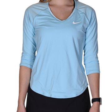 Womens NikeCourt Pure Tennis Top