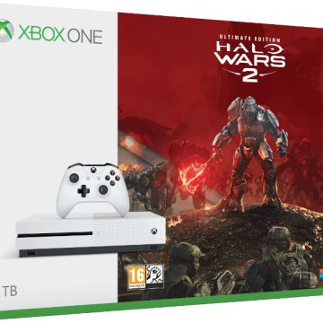 Xbox One S 1TB + Halo Wars 2