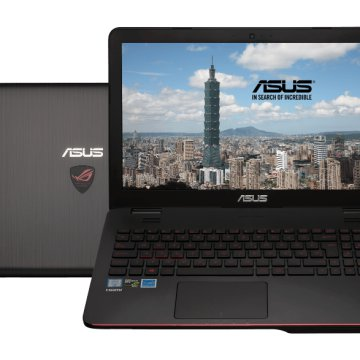 "G551VW-FW276D gaming notebook (15,6"" Full HD/Core i7/8GB/128GB SSD+ 1TB HDD/GTX960 4GB VGA/DOS)"