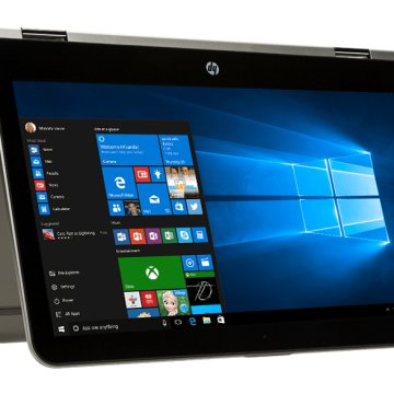 "Pavilion x360 ezüst 2in1 eszköz Z9E22EA (13,3"" Full HD touch/Core i5/4GB/128GB SSD/Windows 10)"