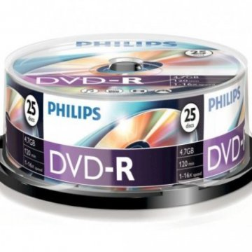 Philips DVD-R47CB*25 cake-box