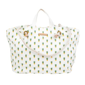 BEACH EW TOTE PINEAPPLE