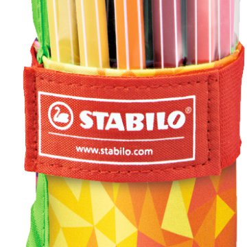 Stabilo Pen 68 filctoll klt. Fan Edition 25 db-os