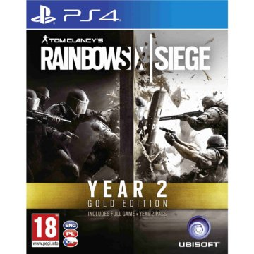 Tom Clancy's Rainbow Six Siege Year Two Gold Edition (PlayStation 4)