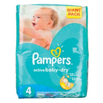 Pampers Active Baby Dry Giant Pack pelenka