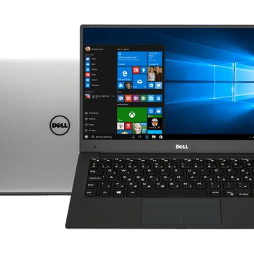 "XPS 13 9360-222187 ezüst notebook (13,3"" Full HD/Core i5/8GB/256GB SSD/Windows 10)"