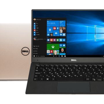"XPS 13 9360-222189 rózsaarany notebook (13,3"" Full HD/Core i5/8GB/256GB SSD/Windows 10)"