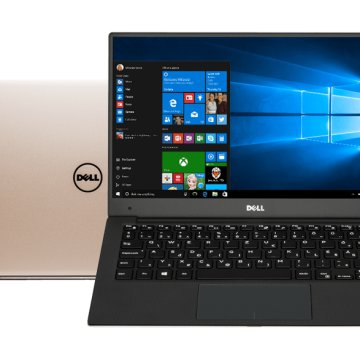 "XPS 13 9360-221279 rózsaarany notebook (13,3"" Full HD/Core i7/8GB/256GB SSD/Windows 10)"
