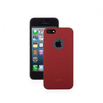 Moshi - iGlaze Slim iPhone 5 tok - Burgundy vörös