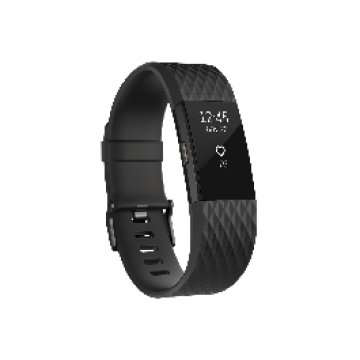 Fitbit - Charge 2 - Fekete, nagy