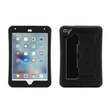 Griffin - Survivor Slim iPad mini 4 tok - Fekete