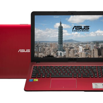 "X540LJ-XX588D piros notebook (15,6""/Core i3/4GB/500GB HDD/920 1GB VGA/DOS)"