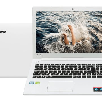 "IdeaPad 510 fehér notebook 80SV009PHV (15,6"" Full HD/Core i7/4GB/1TB/GT940MX 4GB VGA/DOS)"