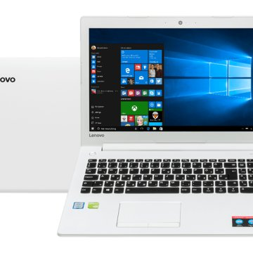 "IdeaPad 510 fehér notebook 80SV00L2HV (15,6"" Full HD/Core i7/4GB/500GB/GT940MX 2GB VGA/Windows 10)"